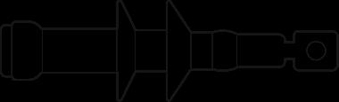 Termokurczliwa głowica napowietrzna typu E3UETH 24 K CM